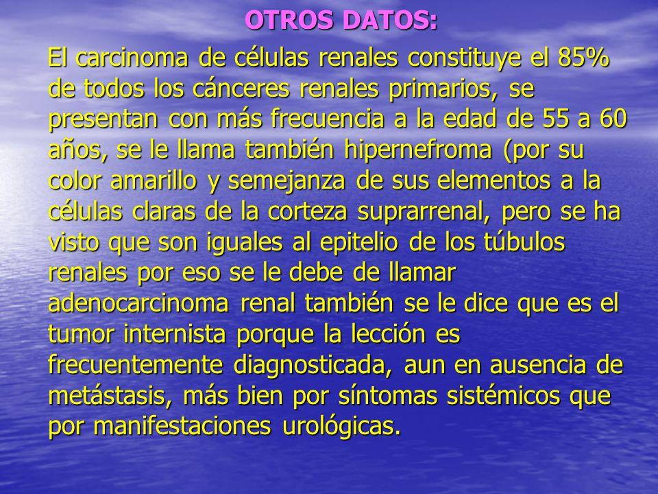 OTROS DATOS: