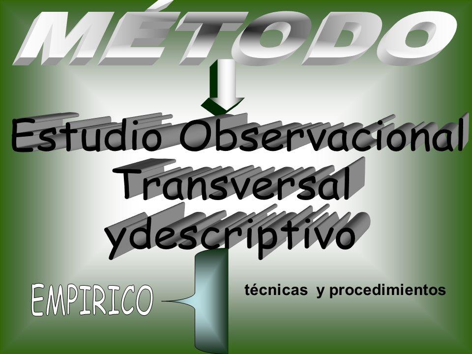 Estudio Observacional