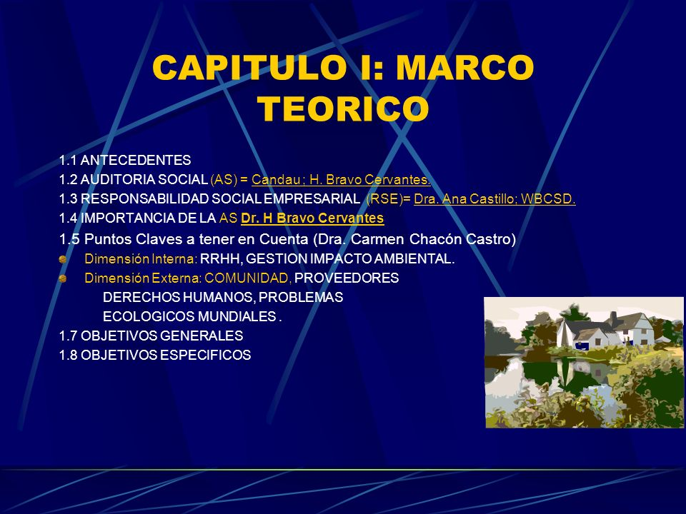 CAPITULO I: MARCO TEORICO