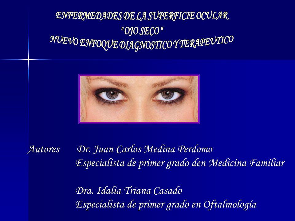 Autores Dr. Juan Carlos Medina Perdomo