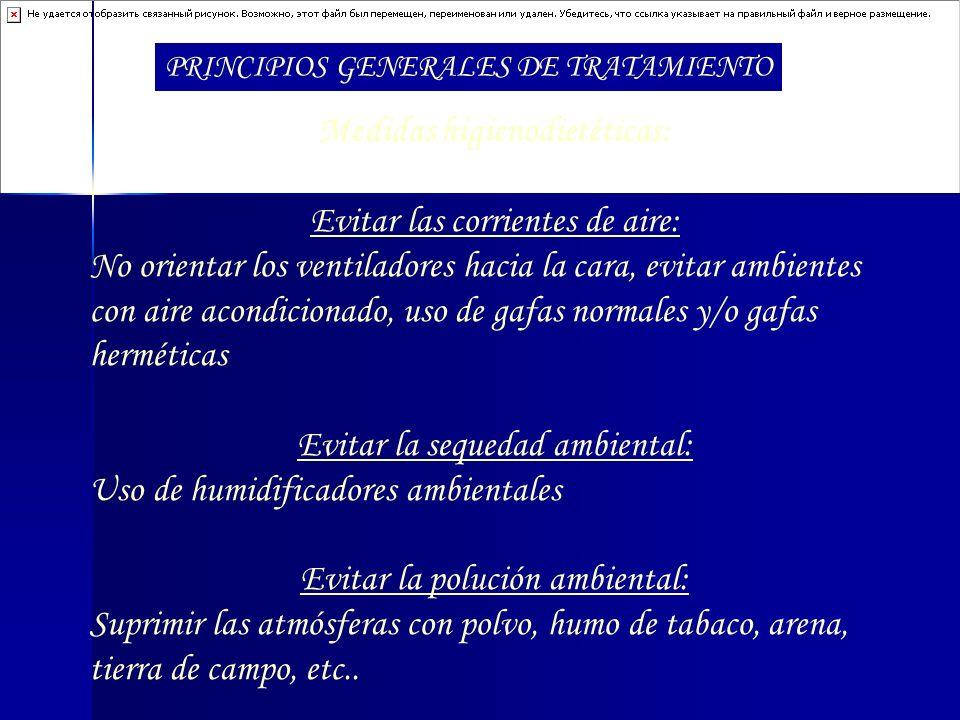 Medidas higienodietéticas: