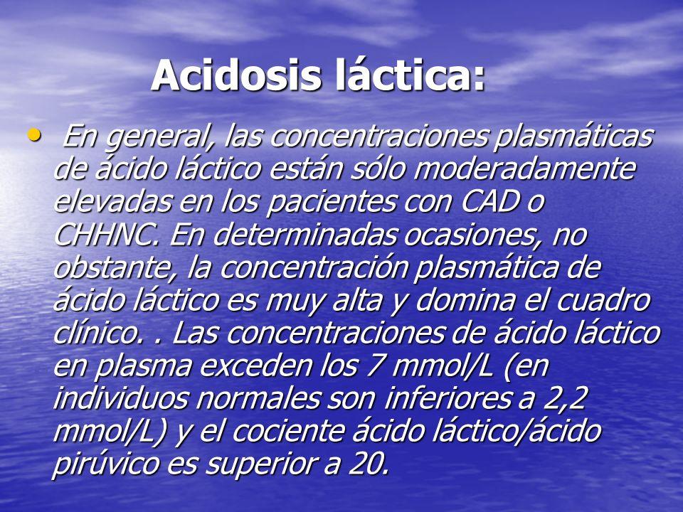 Acidosis láctica: