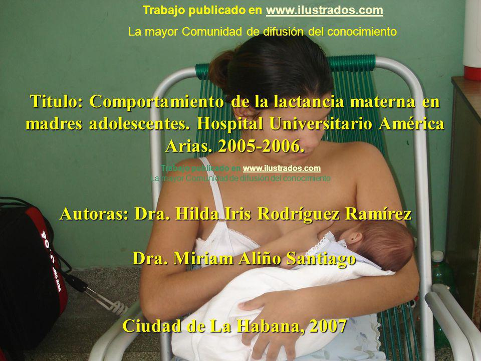 Autoras: Dra. Hilda Iris Rodríguez Ramírez Dra. Miriam Aliño Santiago
