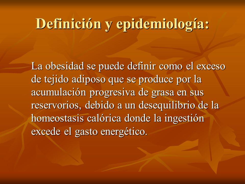 Definición y epidemiología: