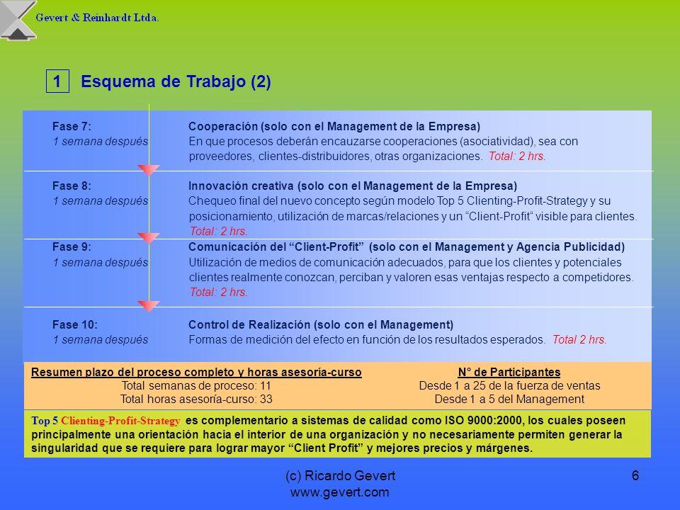 Resumen plazo del proceso completo y horas asesoría-curso