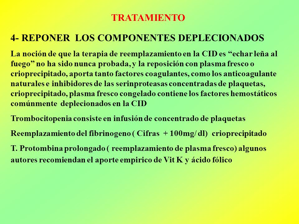 4- REPONER LOS COMPONENTES DEPLECIONADOS