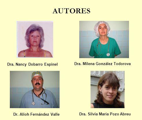 AUTORES Autores: -Dra.Nancy Dobarro Espinel