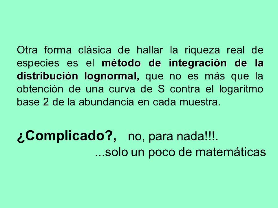 ¿Complicado , no, para nada!!!.