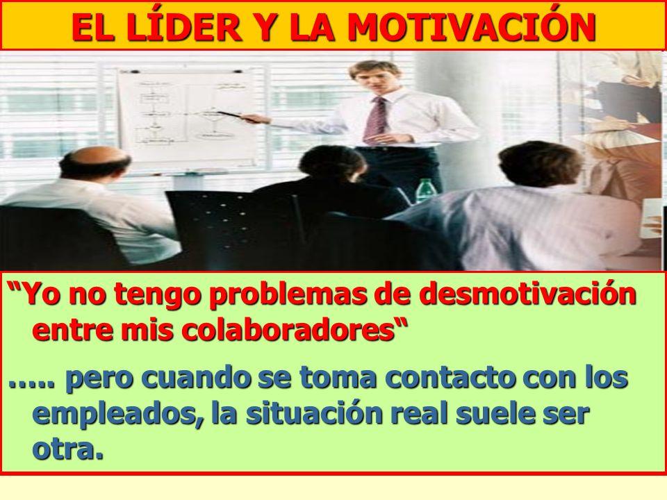 EL LÍDER Y LA MOTIVACIÓN