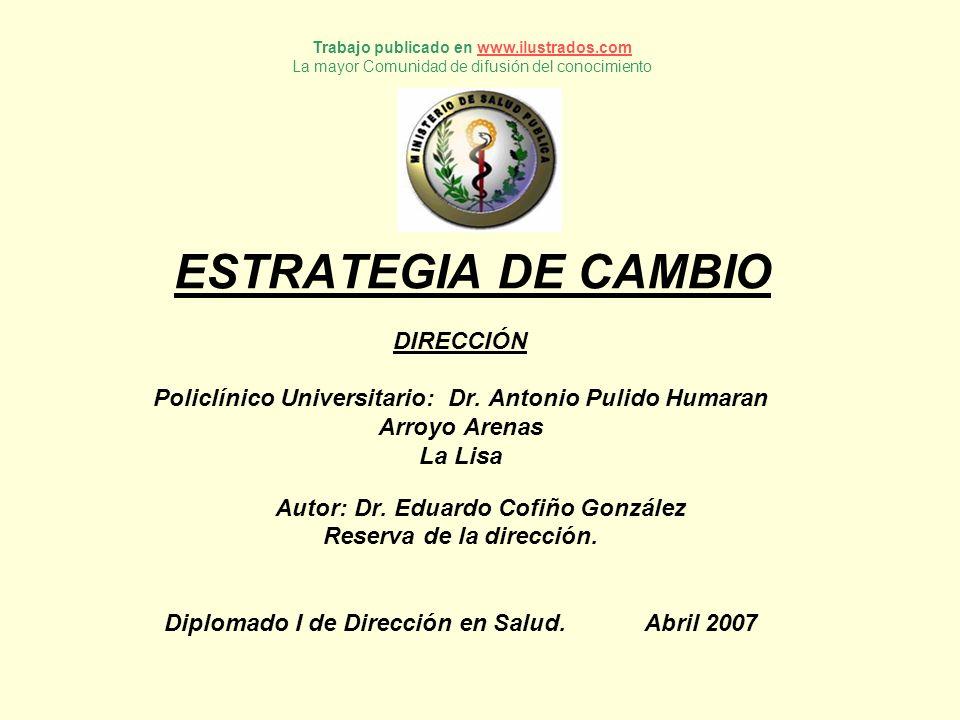 ESTRATEGIA DE CAMBIO DIRECCIÓN