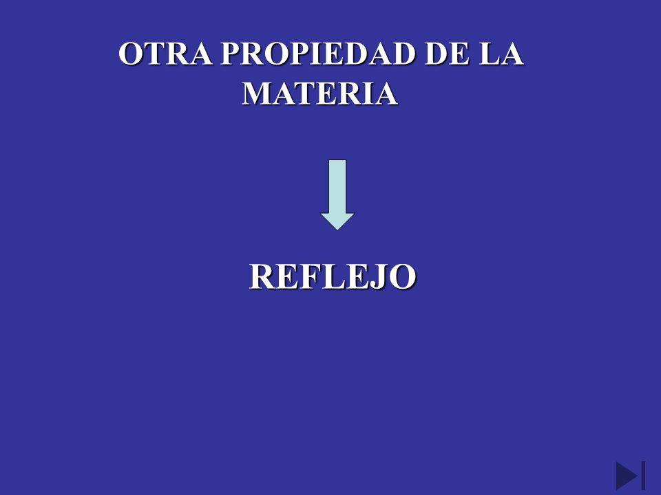 OTRA PROPIEDAD DE LA MATERIA
