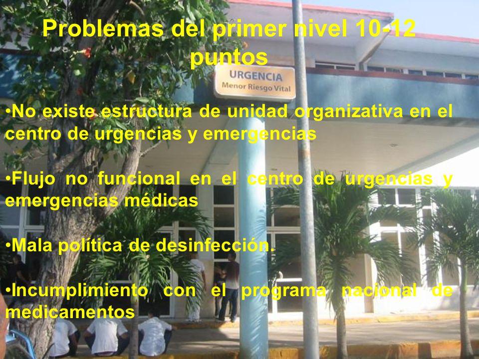 Problemas del primer nivel 10-12 puntos