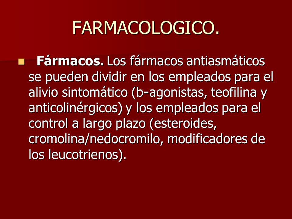 FARMACOLOGICO.