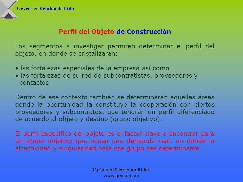 Perfil del Objeto de Construcción