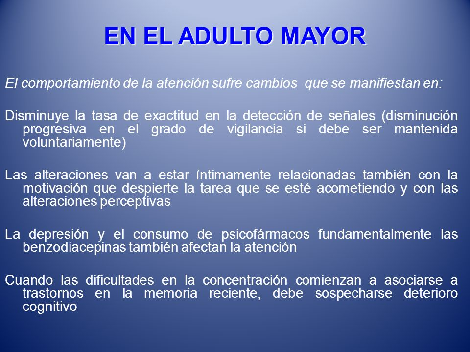 EN EL ADULTO MAYOR