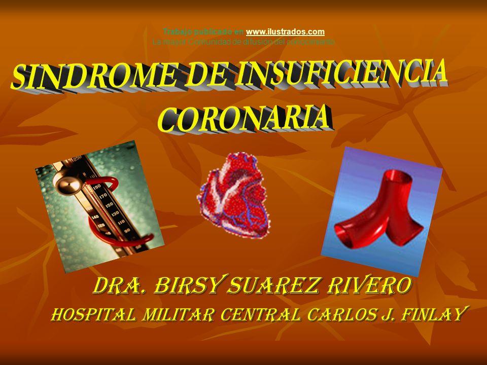 Trabajo publicado en www.ilustrados.com SINDROME DE INSUFICIENCIA