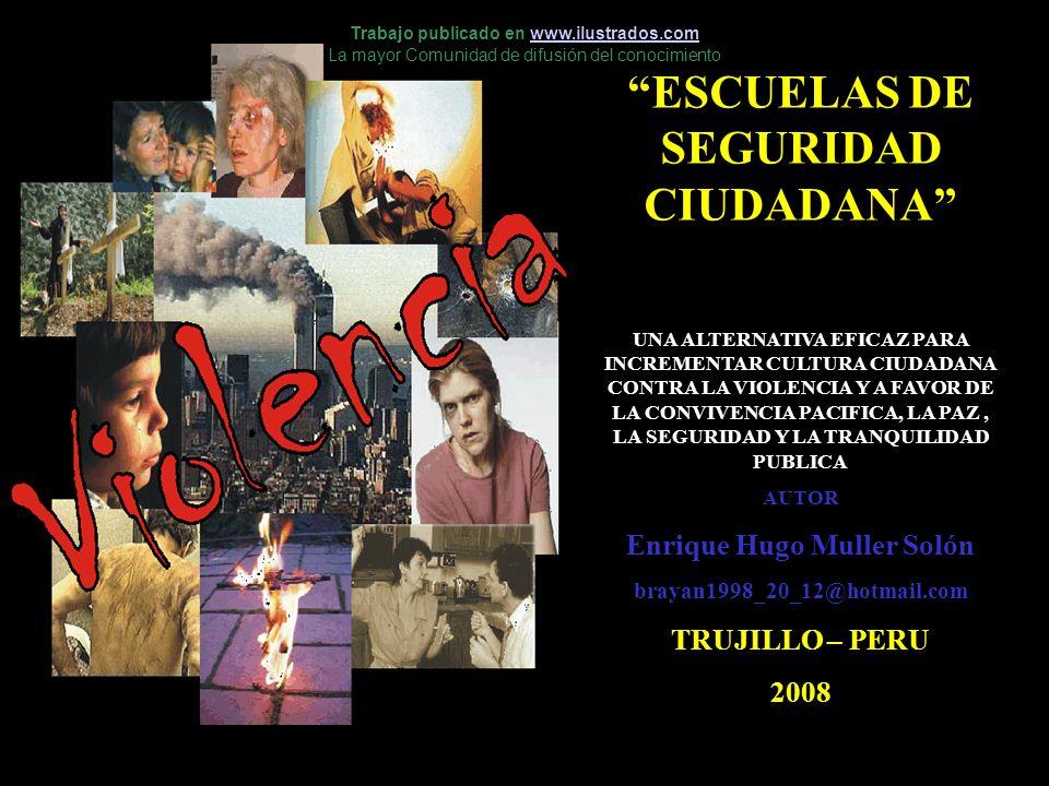 ESCUELAS DE SEGURIDAD CIUDADANA