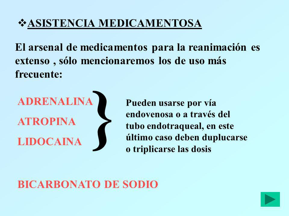 } ASISTENCIA MEDICAMENTOSA