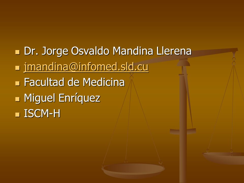Dr. Jorge Osvaldo Mandina Llerena