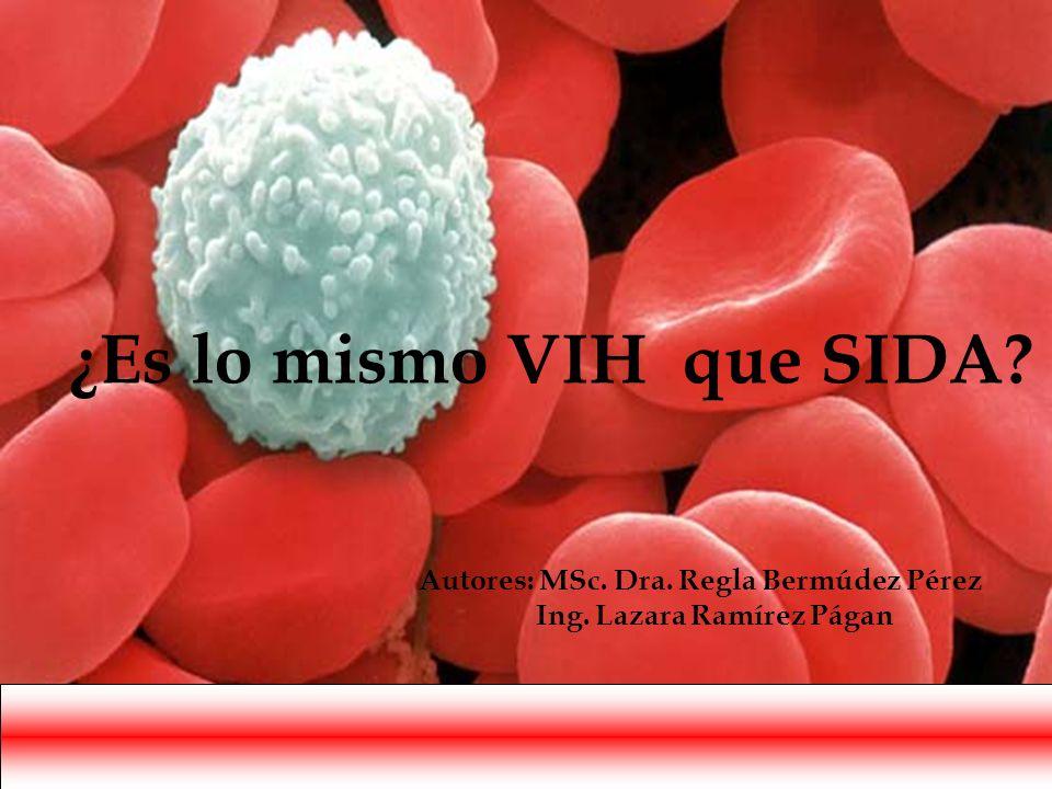 ¿Es lo mismo VIH que SIDA