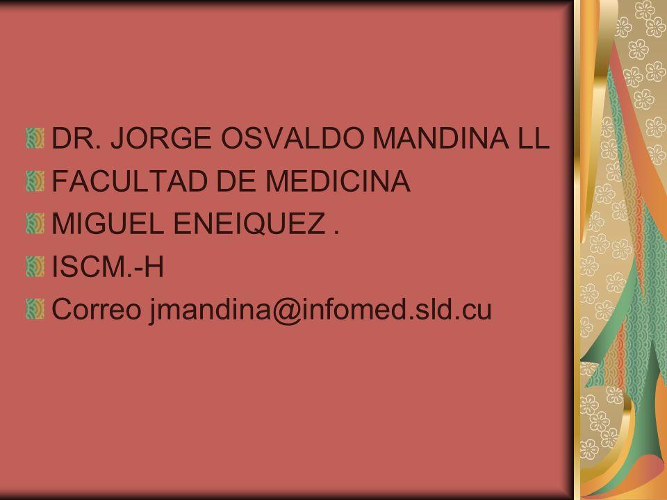 DR. JORGE OSVALDO MANDINA LL