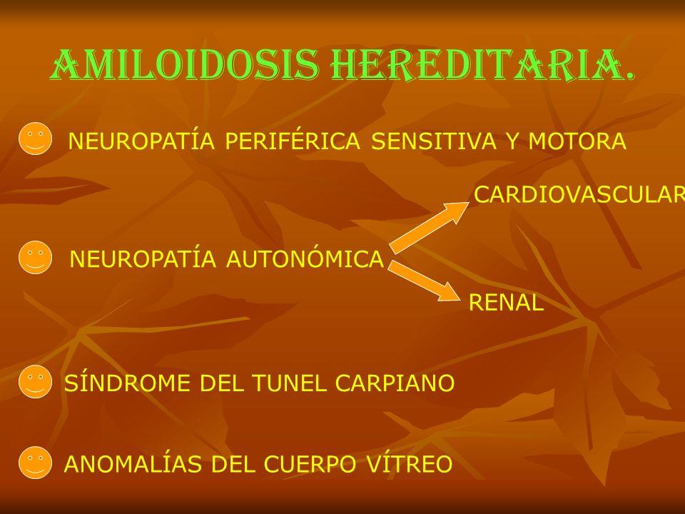 AMILOIDOSIS HEREDITARIA.