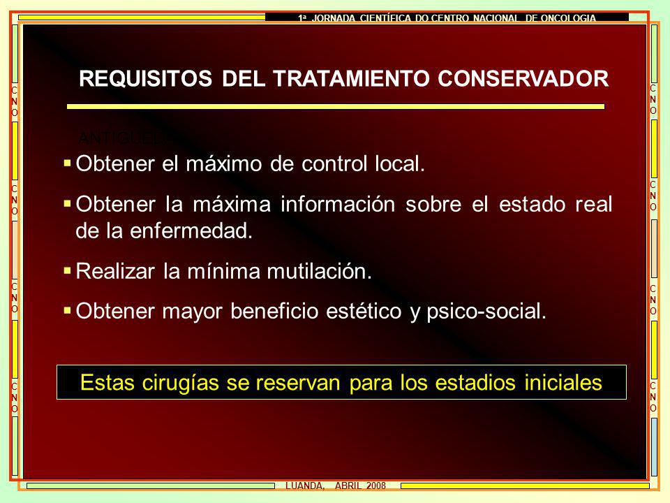 1a JORNADA CIENTÍFICA DO CENTRO NACIONAL DE ONCOLOGIA