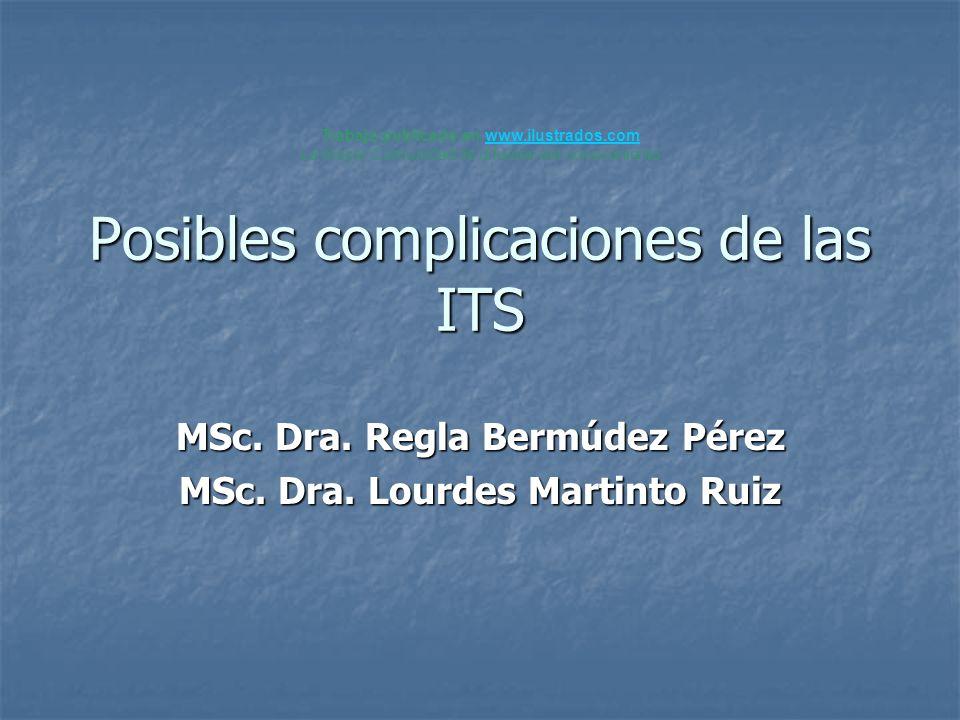 Posibles complicaciones de las ITS