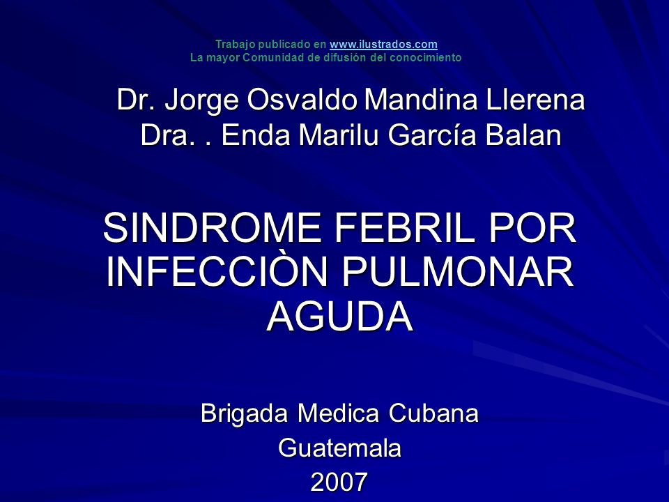 Dr. Jorge Osvaldo Mandina Llerena Dra. . Enda Marilu García Balan