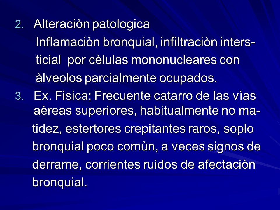 Alteraciòn patologica