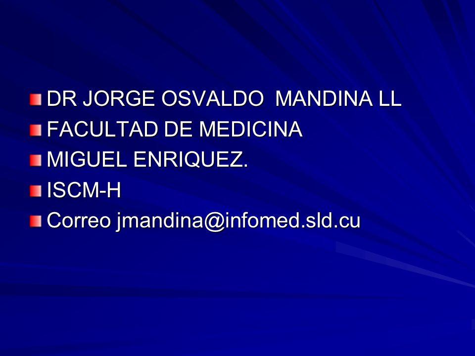DR JORGE OSVALDO MANDINA LL