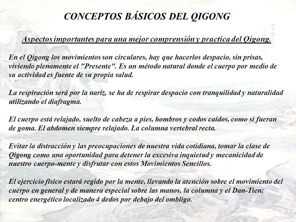 CONCEPTOS BÁSICOS DEL QIGONG