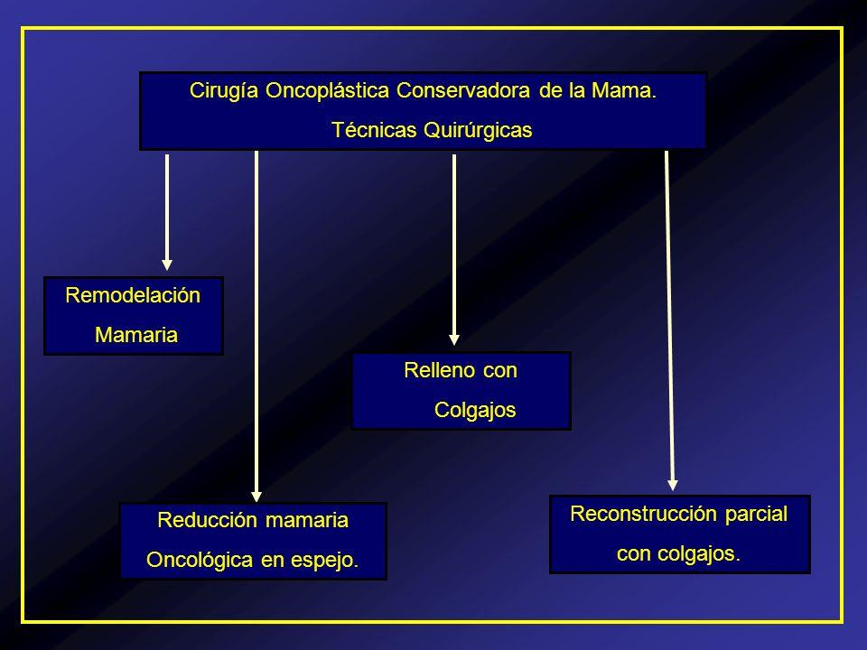 Cirugía Oncoplástica Conservadora de la Mama. Técnicas Quirúrgicas