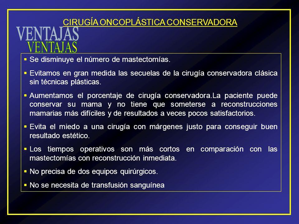 CIRUGÍA ONCOPLÁSTICA CONSERVADORA