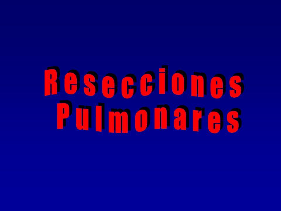 Resecciones Pulmonares