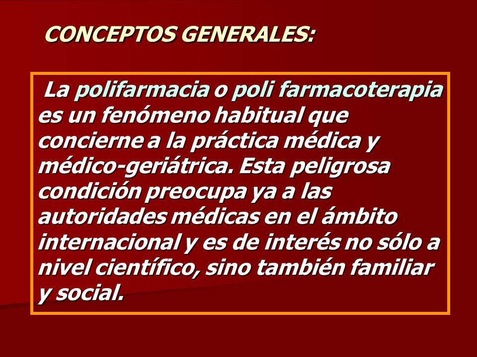 CONCEPTOS GENERALES:
