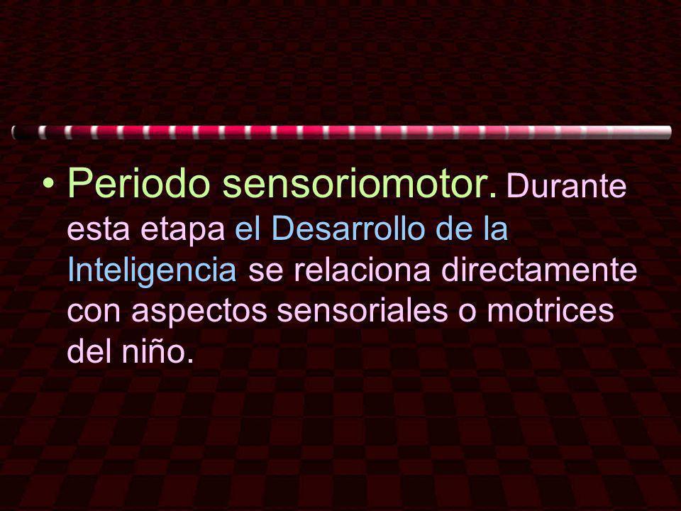 Periodo sensoriomotor