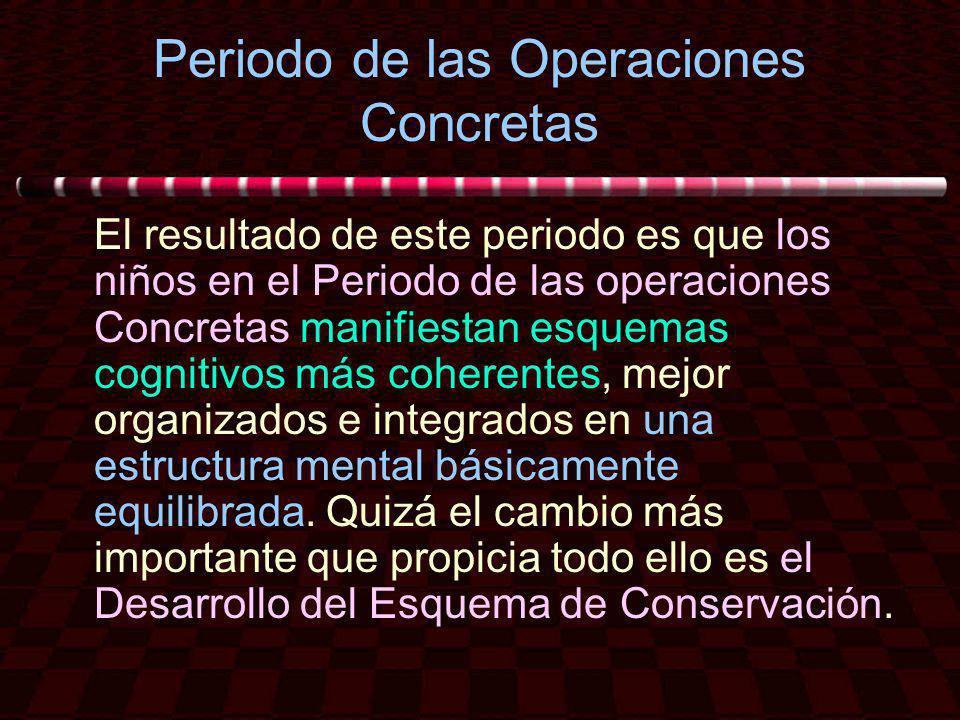 Periodo de las Operaciones Concretas