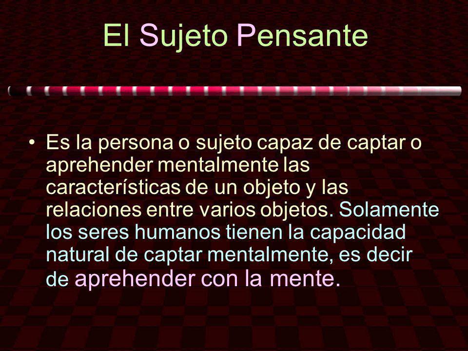 El Sujeto Pensante