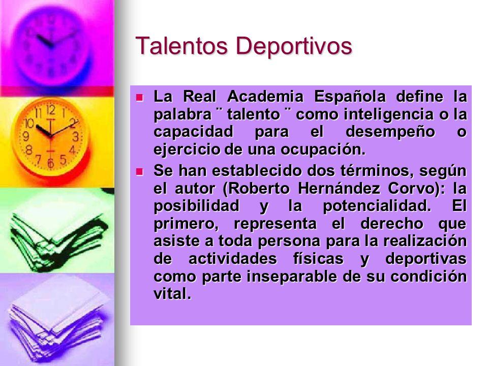 Talentos Deportivos