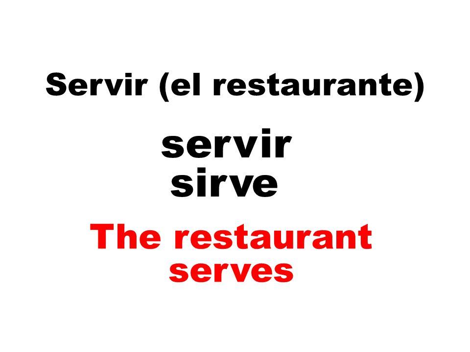 Servir (el restaurante)