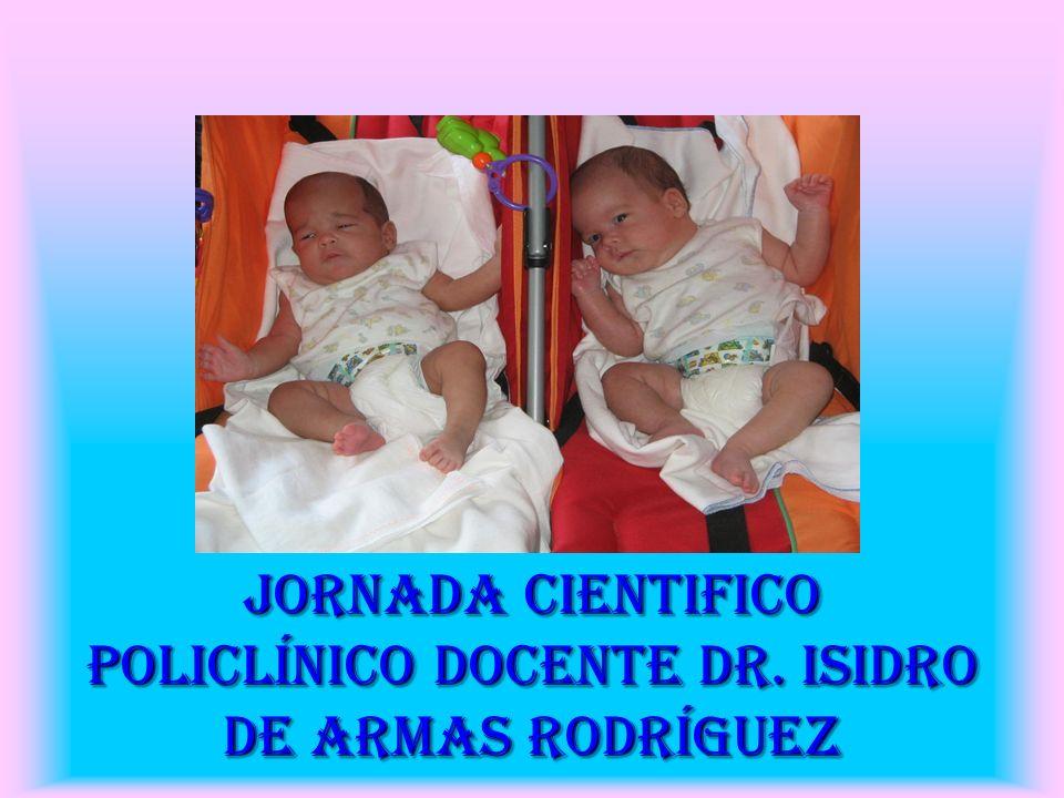 JORNADA CIENTIFICO Policlínico Docente Dr. Isidro de Armas Rodríguez