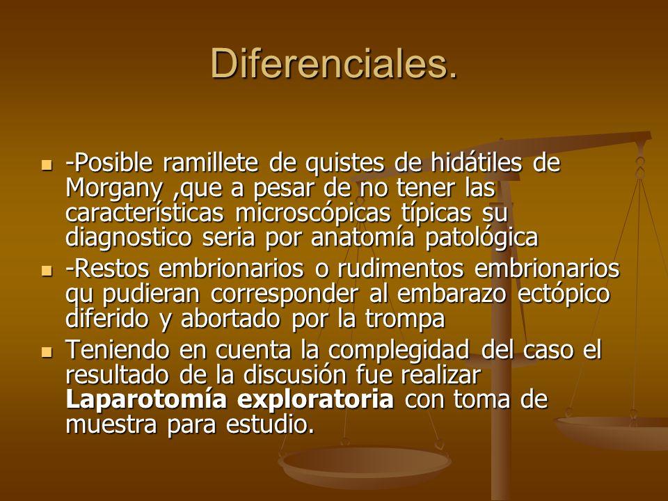 Diferenciales.