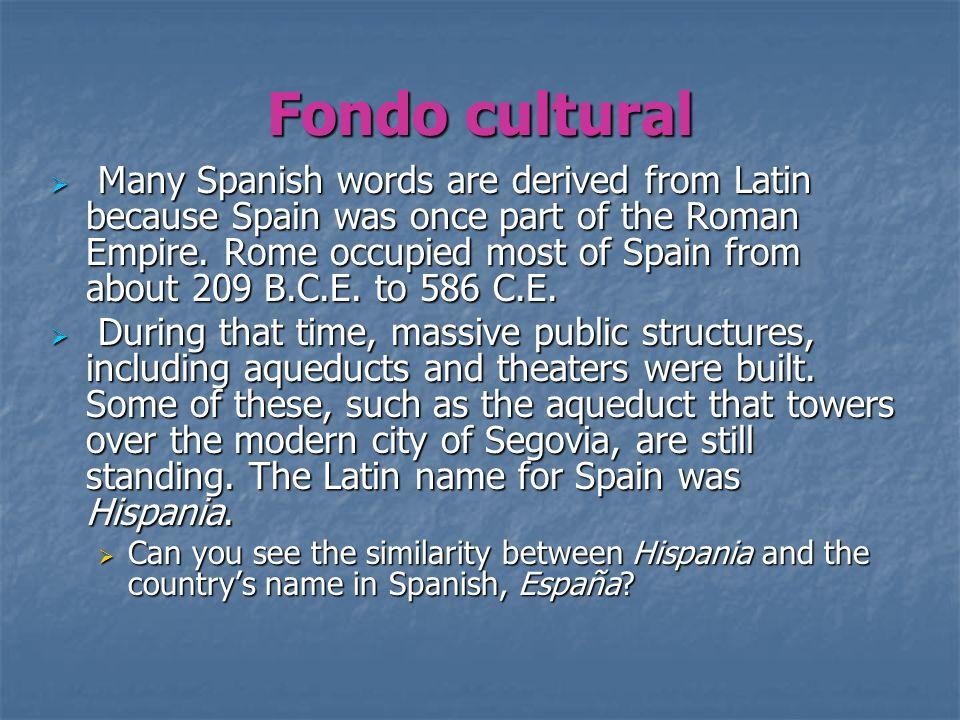 Fondo cultural
