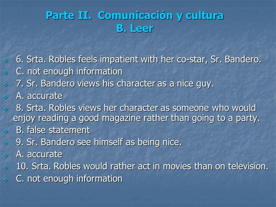 Parte II. Comunicación y cultura