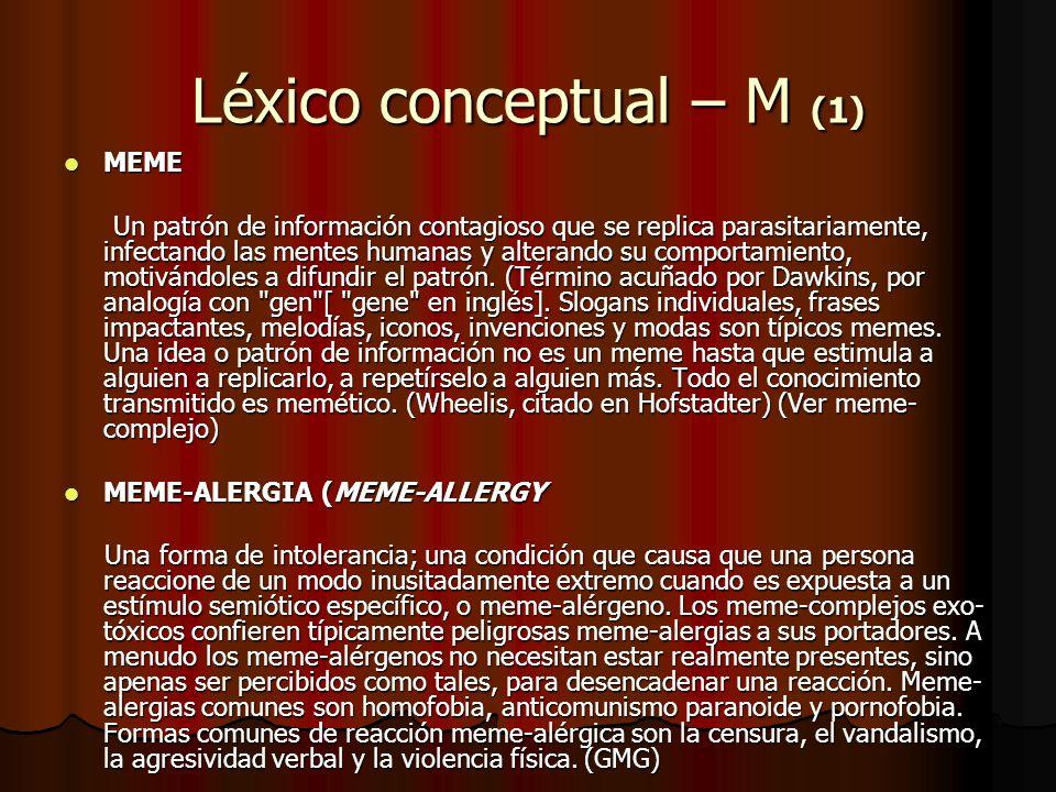Léxico conceptual – M (1)
