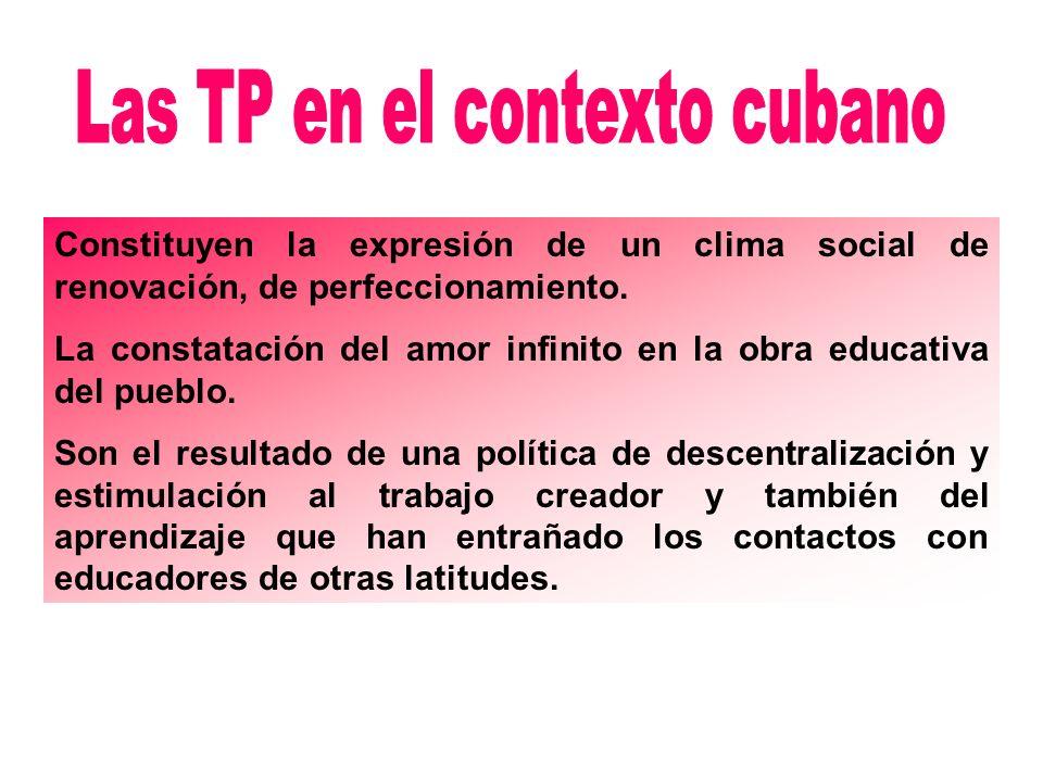 Las TP en el contexto cubano