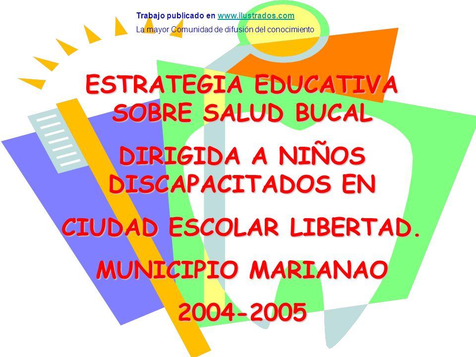 ESTRATEGIA EDUCATIVA SOBRE SALUD BUCAL