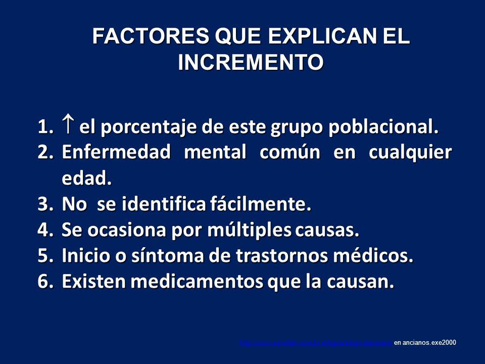 FACTORES QUE EXPLICAN EL INCREMENTO