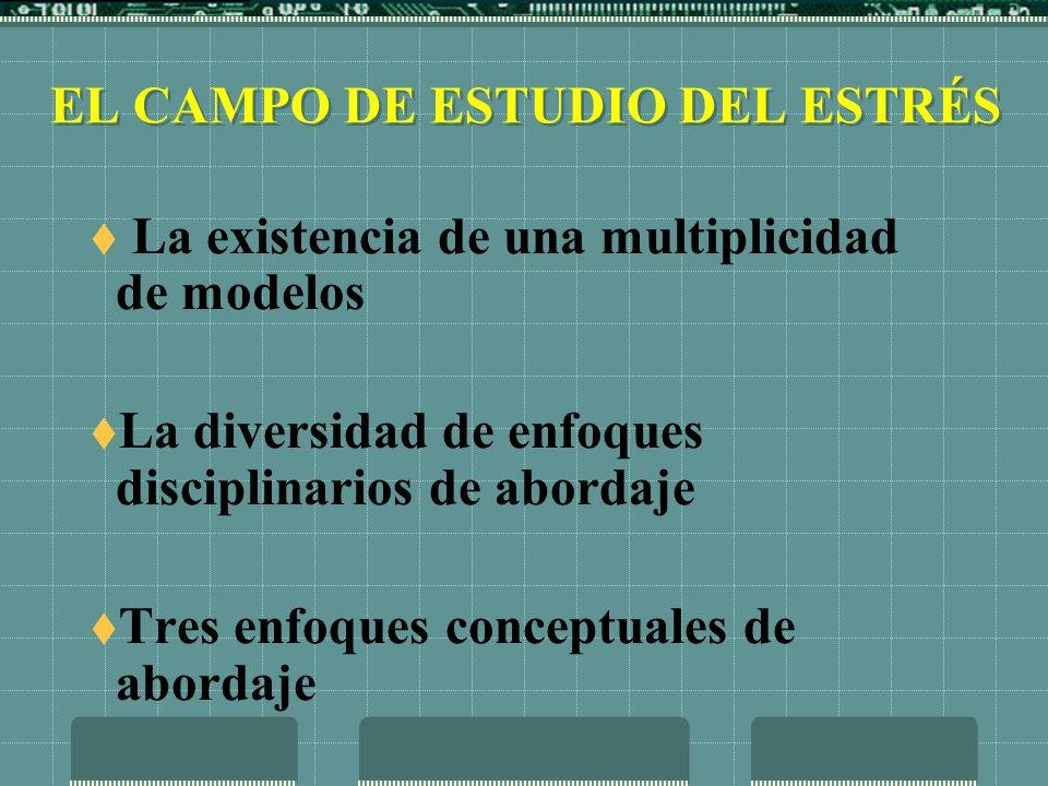 EL CAMPO DE ESTUDIO DEL ESTRÉS